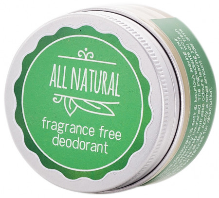 All Natural Deodorant Fragrance Free
