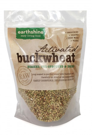 Earthshine Raw Activated Buckwheat