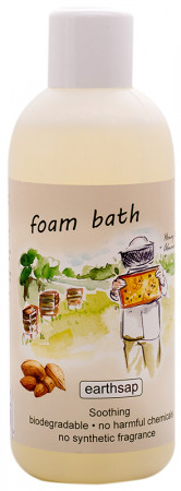 Earthsap Foam Bath - Honey & Almond