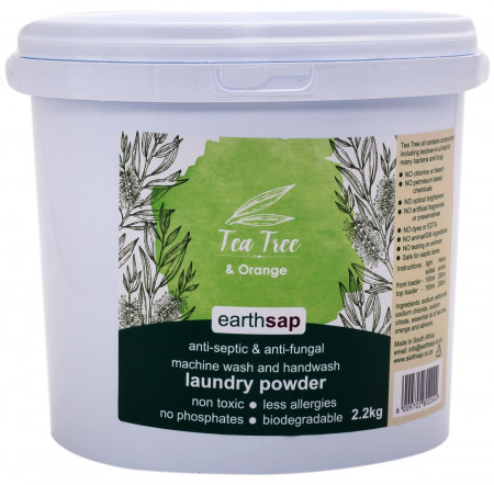 Earthsap Laundry Powder - Tea Tree & Orange