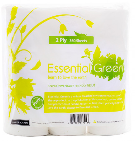 Essential Green Toilet Paper 2Ply