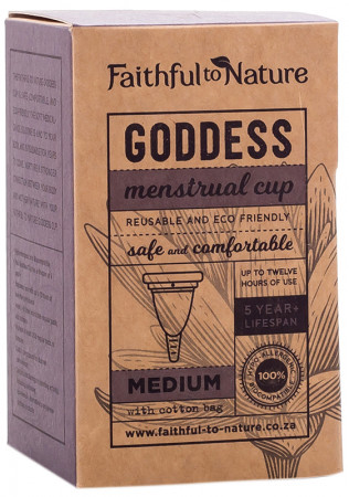 Faithful to Nature Goddess Cup Medium