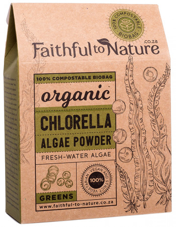 Faithful to Nature Organic Chlorella Powder