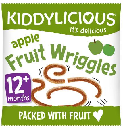 Kiddylicious Wriggles - Apple