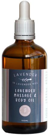 Lavender Hill Lavender Massage Oil