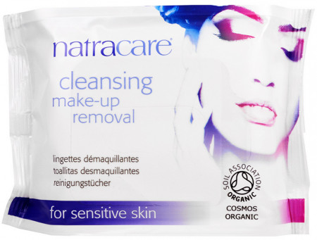 Natracare Organic Make-Up Removal Wipes
