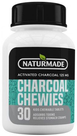 Naturmade Charcoal Chewies for Kids
