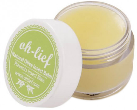 Oh-Lief Natural Olive Insect Repellent Balm