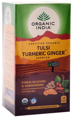 Organic India Tulsi Turmeric Ginger Tea