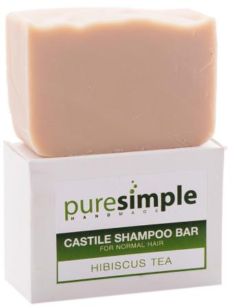 Pure Simple Shampoo Bar Hibiscus Tea