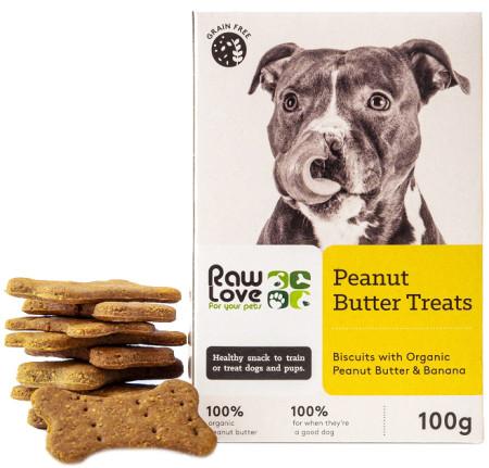 Raw Love Peanut Butter Treats