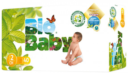 Bio Baby Nappies Size 2 (5-8kg)