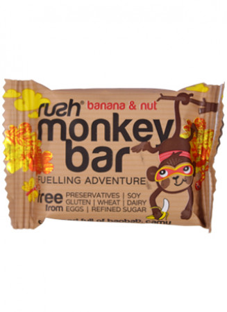 RUSH Kids Monkey Bar – Banana & Nut