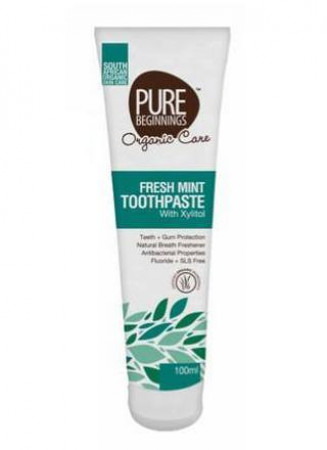 Pure Beginnings Toothpaste Fresh Mint