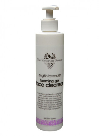 Victorian Garden English Lavender Gel Cleanser - Large (All Skin Types)