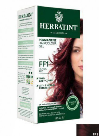 Herbatint Hair Colours - Flash Fashion Henna Red