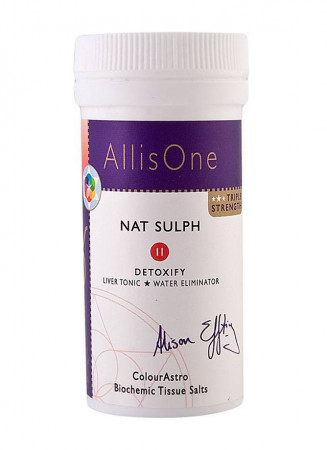 AllisOne Tissue Salts - Nat Sulph (Detoxify)