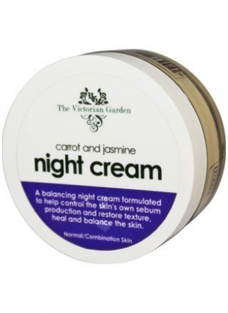 Victorian Garden Carrot & Jasmine Night Cream (Combination Skin)