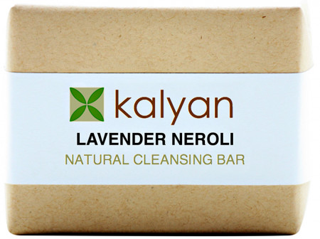 Kalyan Lavender & Neroli Natural Cleansing Bar