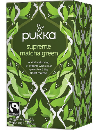 Pukka Supreme Green Matcha Tea