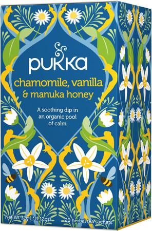 Pukka Chamomile Vanilla & Manuka Tea