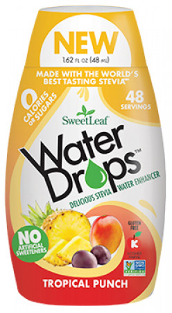 SweetLeaf Waterdrops Tropical Punch