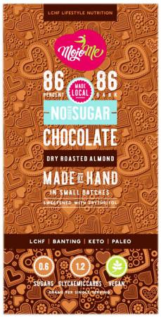 Mojo Me Sugar Free Chocolate Dry Roasted Almond