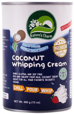 Natures Charm Coconut Whipping Cream