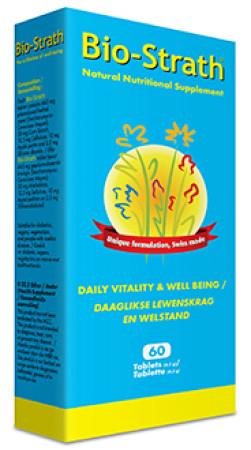 Bio Strath Daily Wellbeing & Vitality 60 tabs