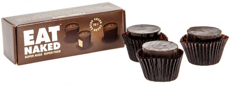 Eat Naked Dark Chocolate Peanut Butter Cups 3's