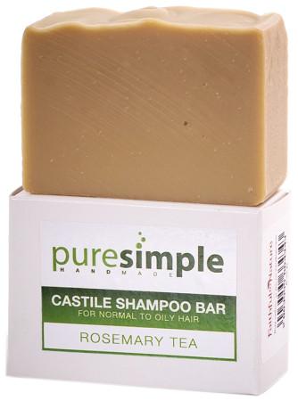 Pure Simple Shampoo Bar Rosemary Tea