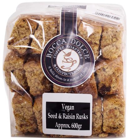 Quarry Lake Foods Vegan Seed & Raisin Rusks