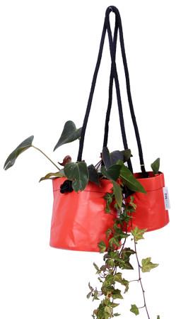 Growbag Hanging Orange Planter