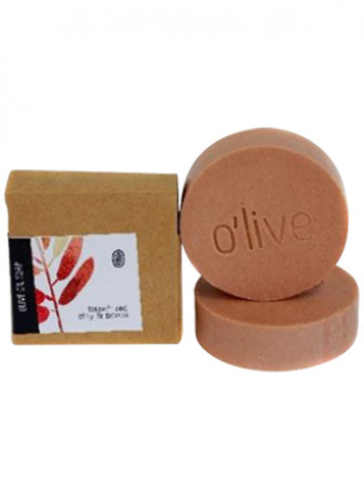 O'live French Red Clay & Neroli Soap