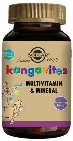 Solgar Kangavites Bouncing Berry Complete Multivitamin & Mineral