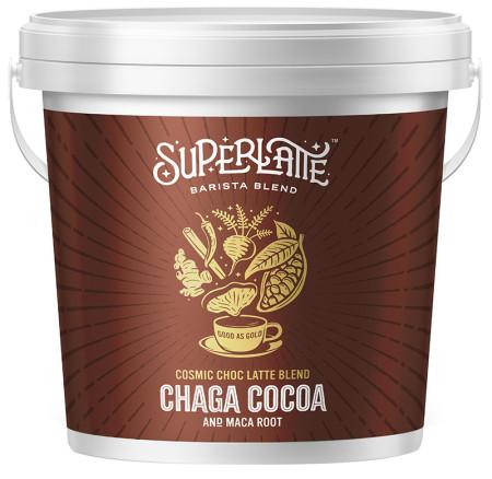 Superlatte Cosmic Choc Latte Blend - Cocoa, Chaga and Maca Root