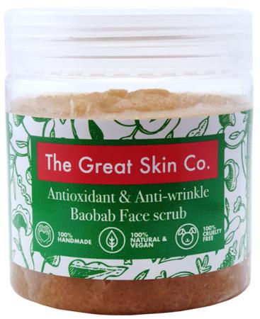 The Great Skin Co Antioxidant Baobab Face Scrub