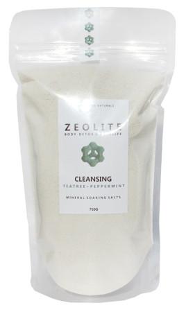 Zeolite Mineral Soaking Salts Cleansing