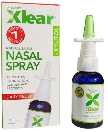 Xlear Sinus Care Nasal Spray