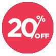 20% off Homespun Apothecary
