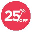 25% Off Outcast Foods