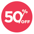 50% Off Clearance Sale