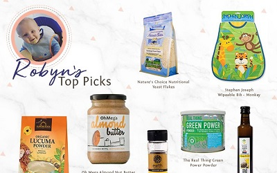 Robyn's Top Baby Superfoods