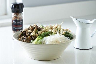 Speedy Veggie Asian Bounty Bowls